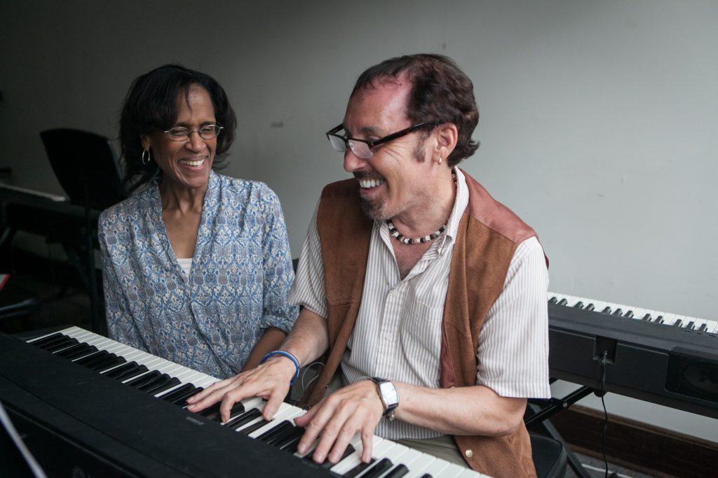 Keyboard class BAE-158 at Brookline Adult Education