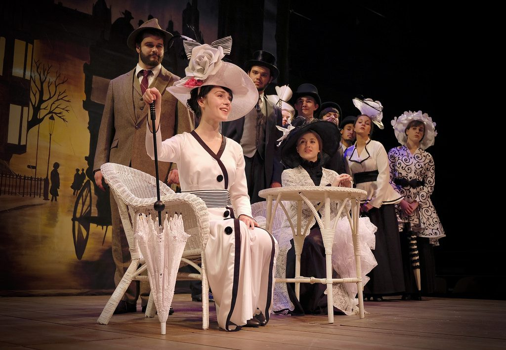 photo of a My Fair Lady scene