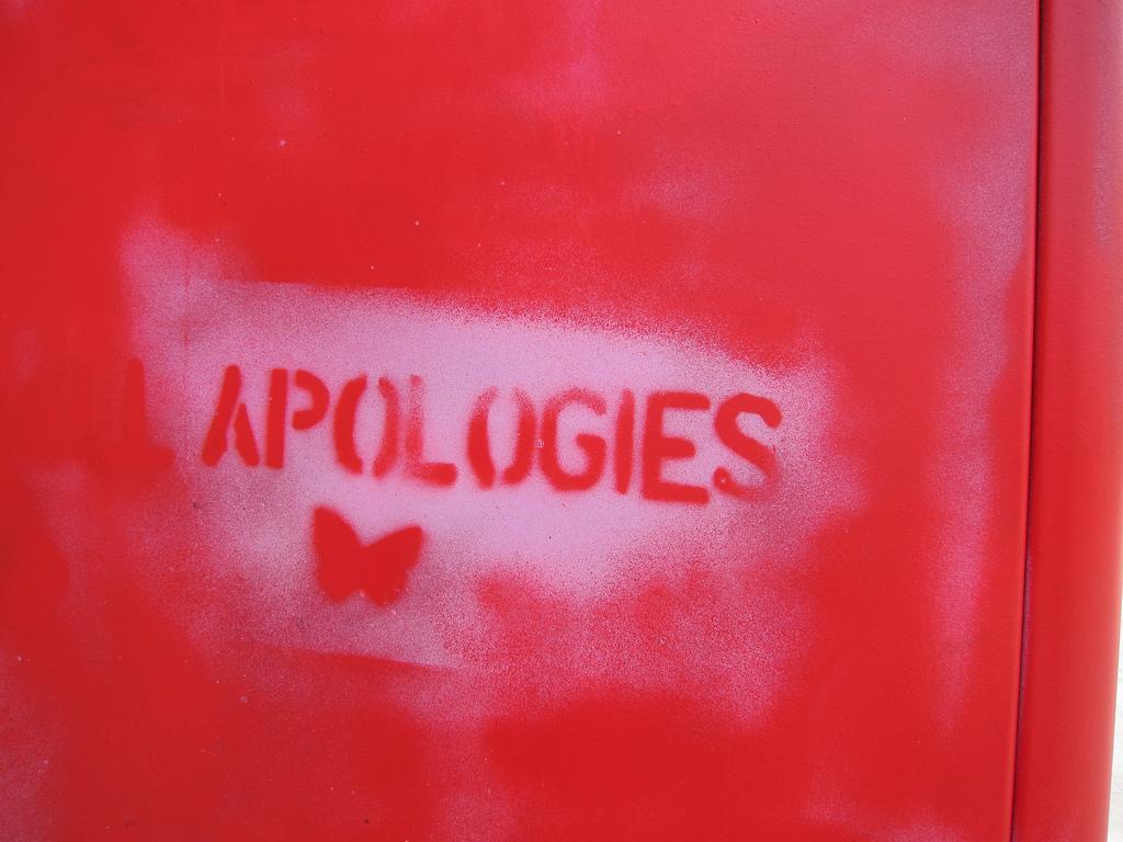 When Apologies Go Badly