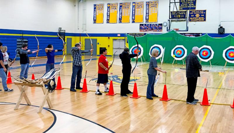 A Summer Adventure: Archery Night Out!